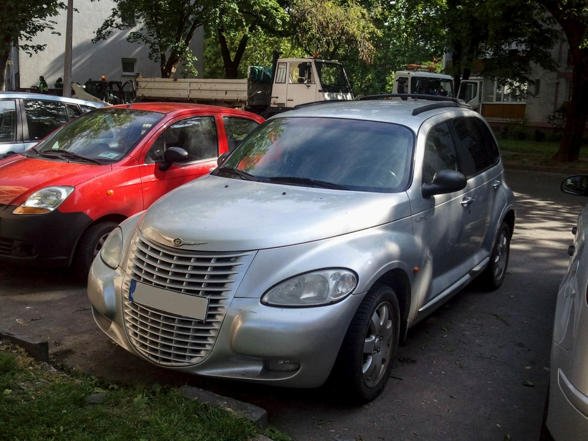 chrysler pt cruiser gesehen am. Black Bedroom Furniture Sets. Home Design Ideas