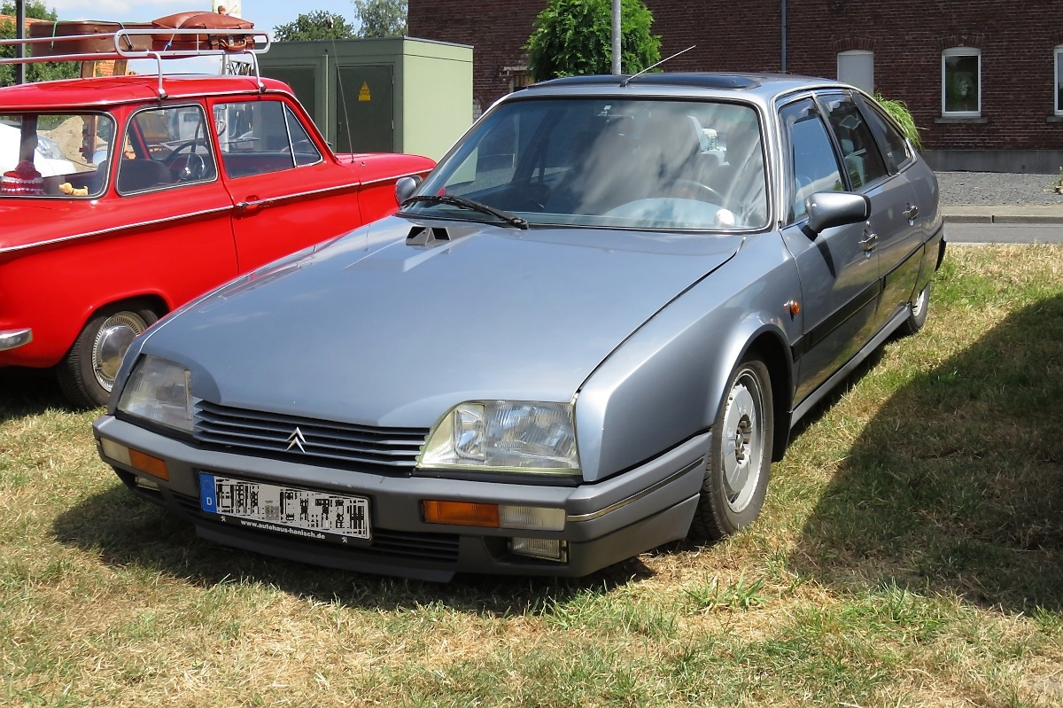 Citroen CX in Schierwaldenrath, 8.7.18