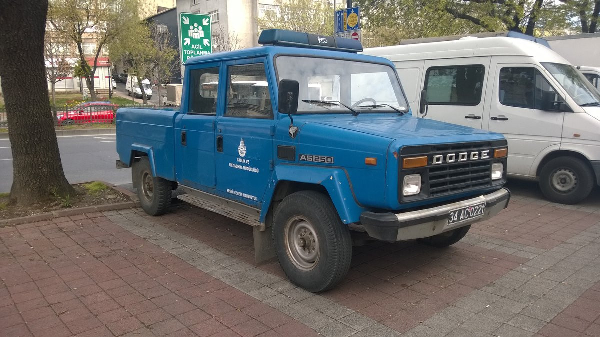 Dodge AS250 Pick-Up in Istanbul, Türkei (März 2016)