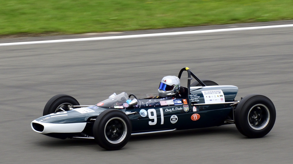 Drake, Chris (GBR)Cooper T71/73 (1964) Rennen 6: Gentle Drivers Trophy, Historic Grand Prix Cars bis 1965, am Samstag 10.8.19 beim 47. AvD - Oldtimer Grand Prix 2019 / Nürburgring