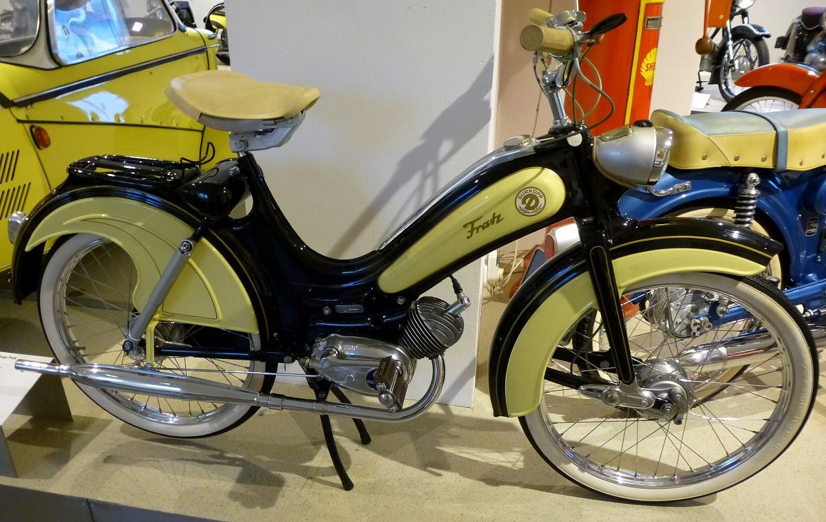 d rkopp fratz oldtimer moped baujahr 1957 48ccm und 1. Black Bedroom Furniture Sets. Home Design Ideas
