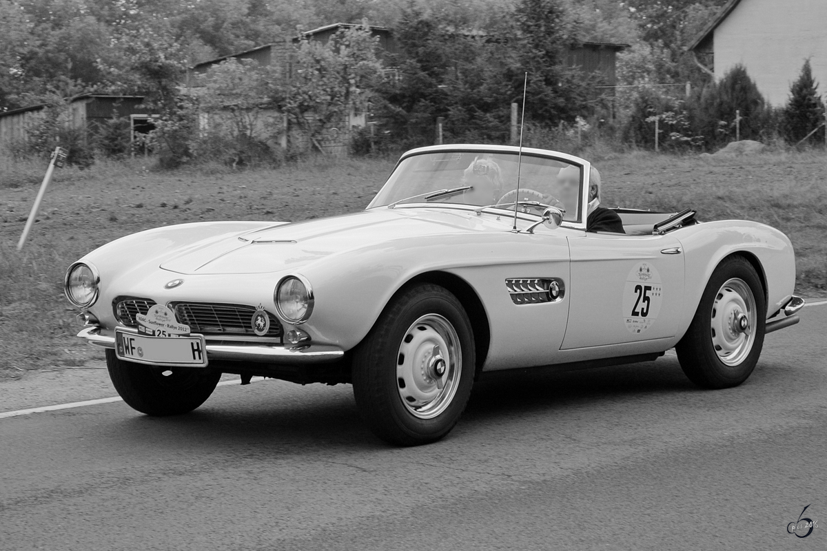 Ein BMW 507 im August 2012 in Linstow.