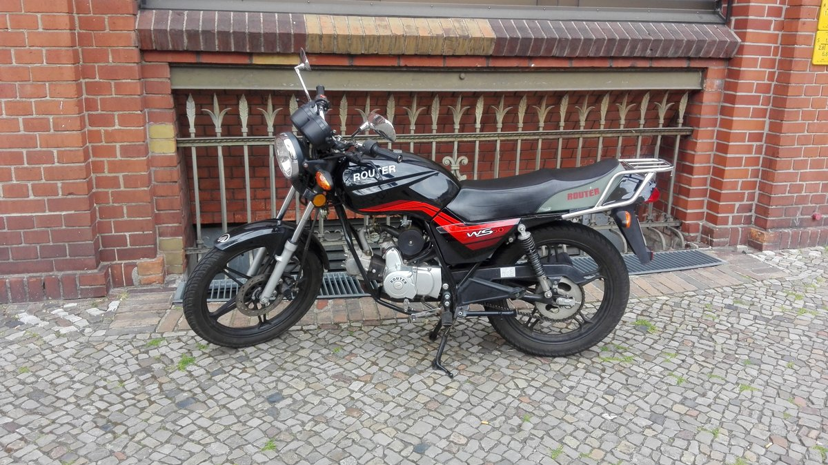 ROMET ROUTER WS 50 Naked Bike Moped EURO 4 NEU INKL