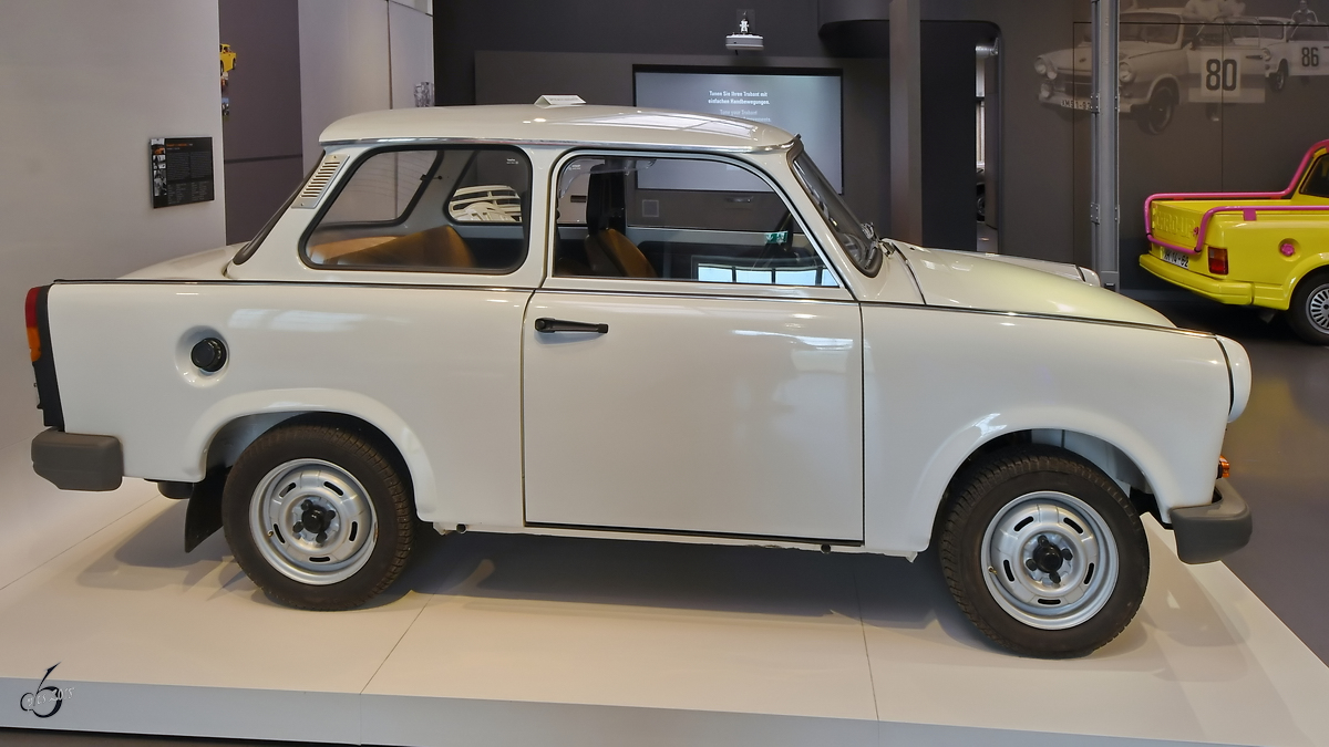 Ein Trabant 1.1 im August Horch Museum Zwickau. (August 2018)