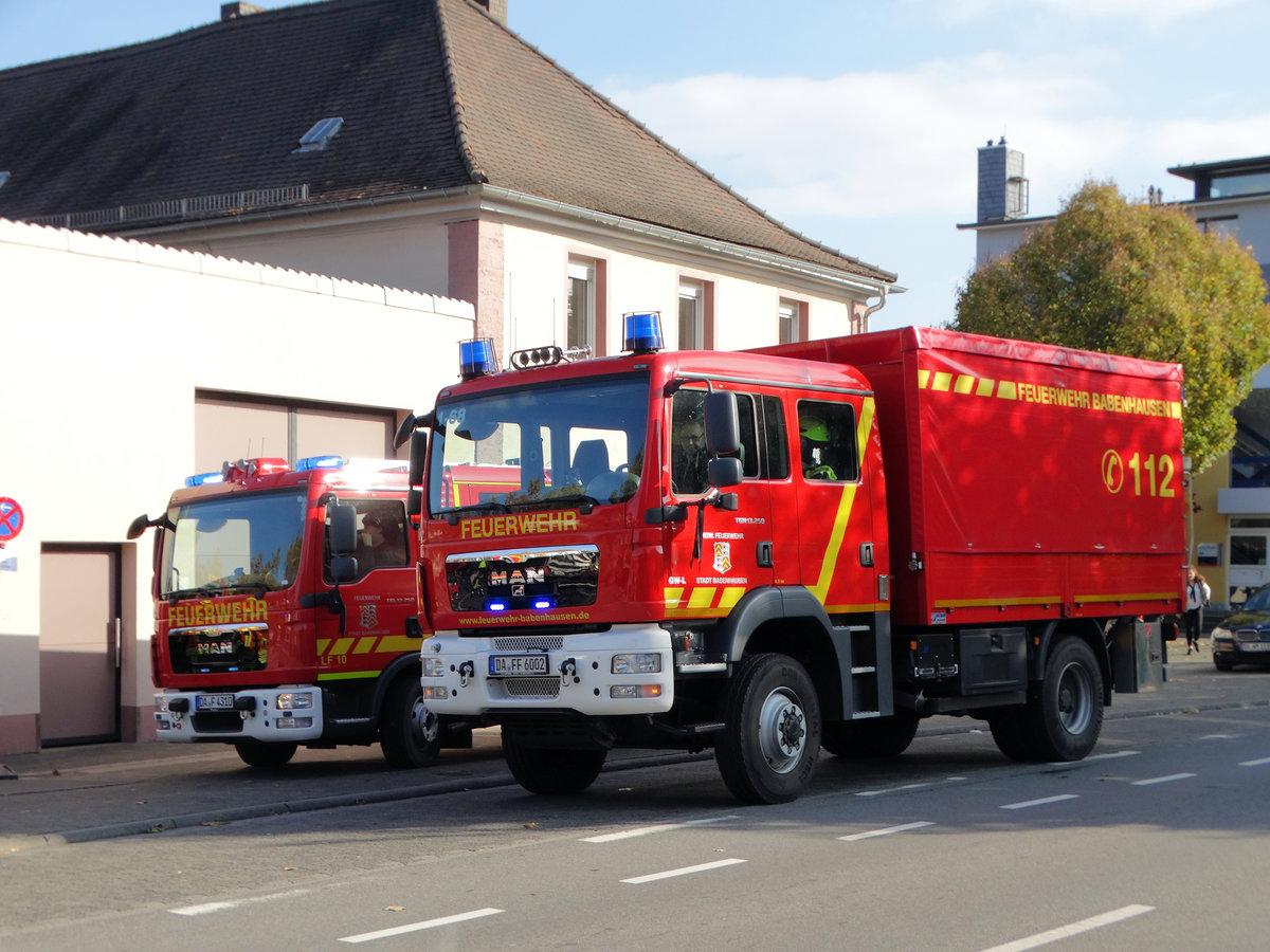 Babenhausen Feuerwehr