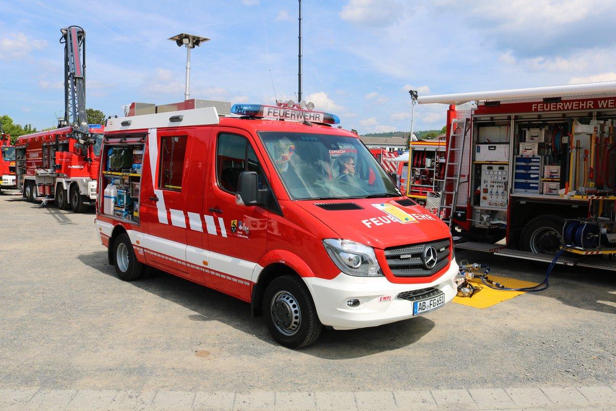 Feuerwehr Großostheim Mercedes Benz Sprinter Klf Am 260519 Beim