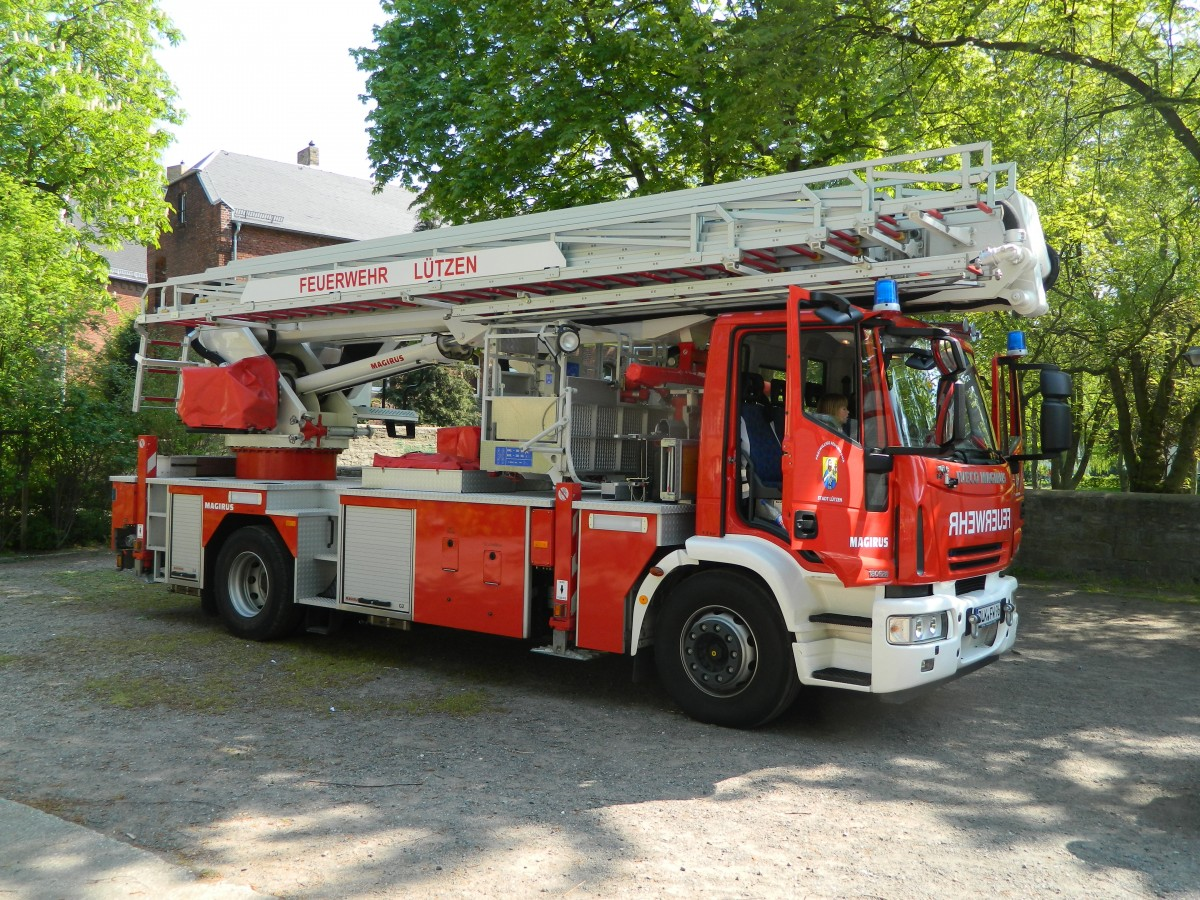 feuerwehr iveco magirus 180e28 hubsteiger am. Black Bedroom Furniture Sets. Home Design Ideas