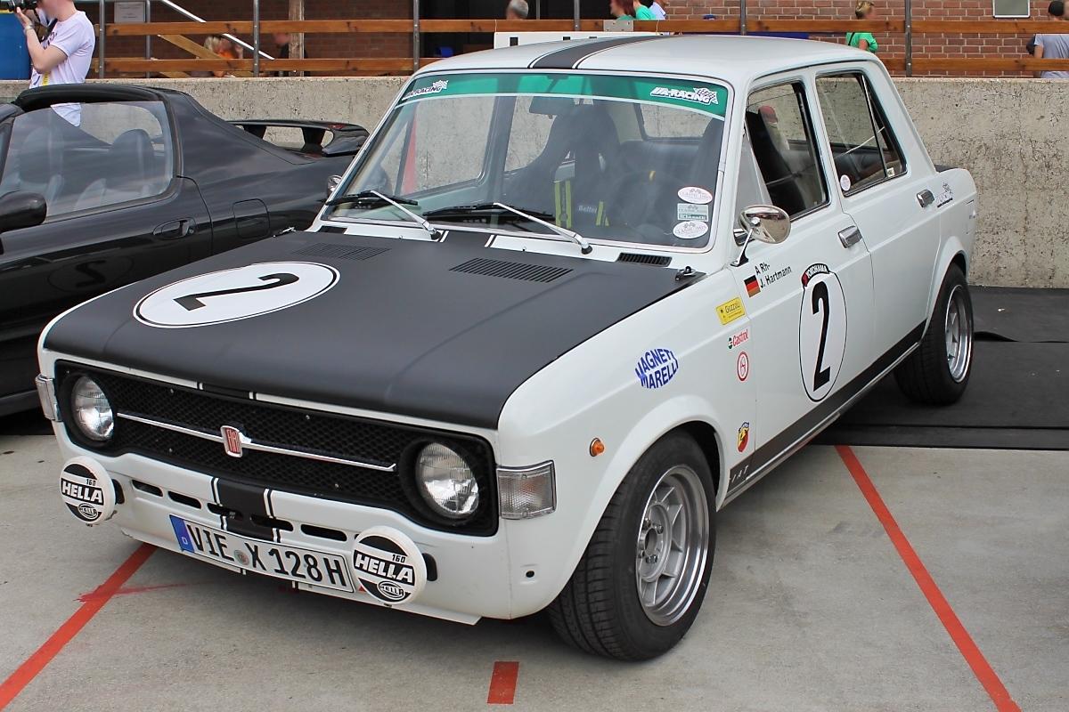 Fiat Bei Grefrath Tuning on Fiat 128 Sl