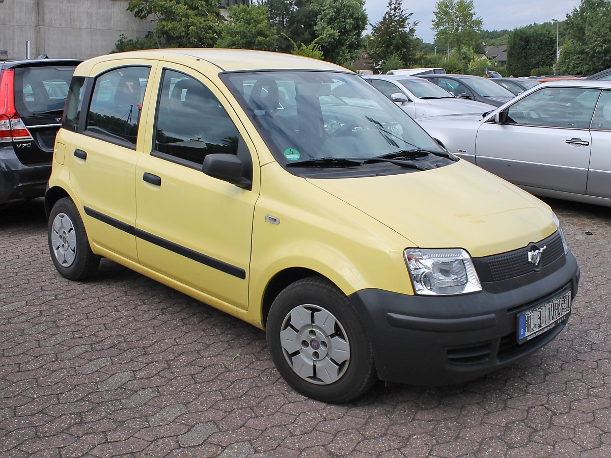 Fiat Panda in Grefrath, 11.8.2013