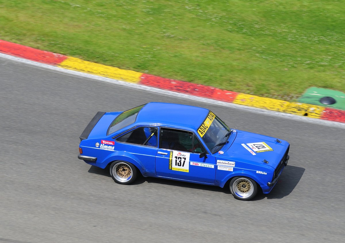 BMW 635 CSI, (Youngtimer Trophy B Rennen 2) Youngtimer Festival Spa 24 ...
