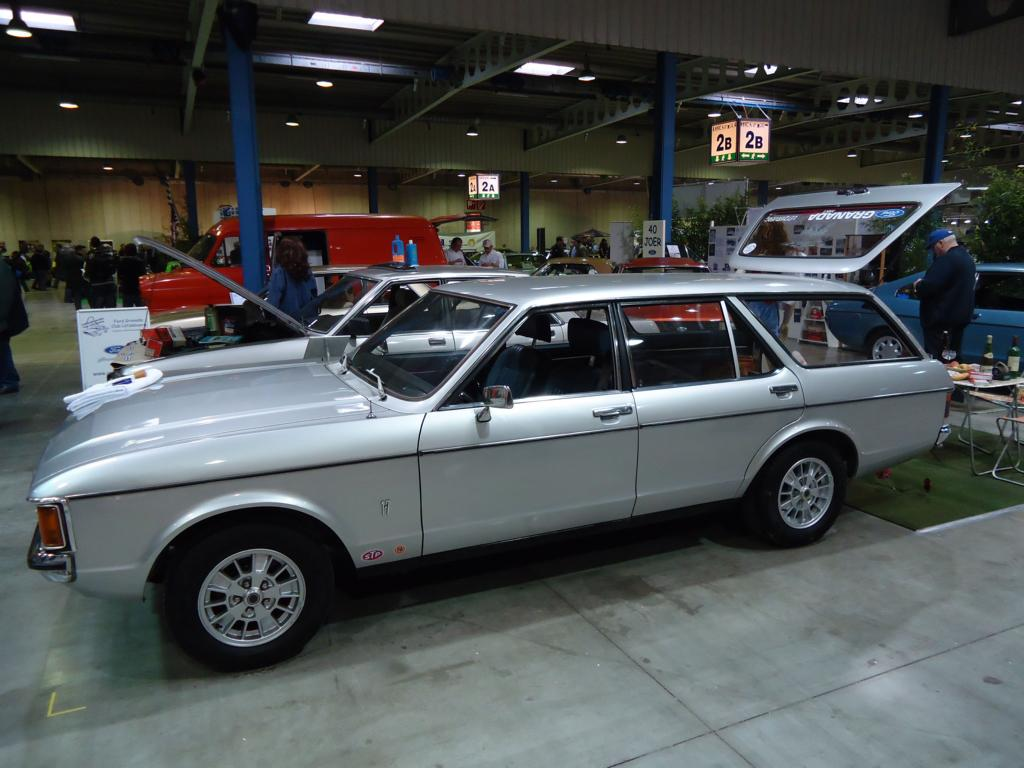 ford granada beim autojumble in luxemburg am. Black Bedroom Furniture Sets. Home Design Ideas