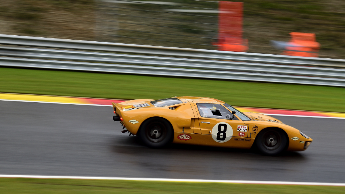 FORD GT40, Spa Six Hours Endurance Hauptrennen bei den Spa Six Hours Classic vom 27 - 29 September 2019