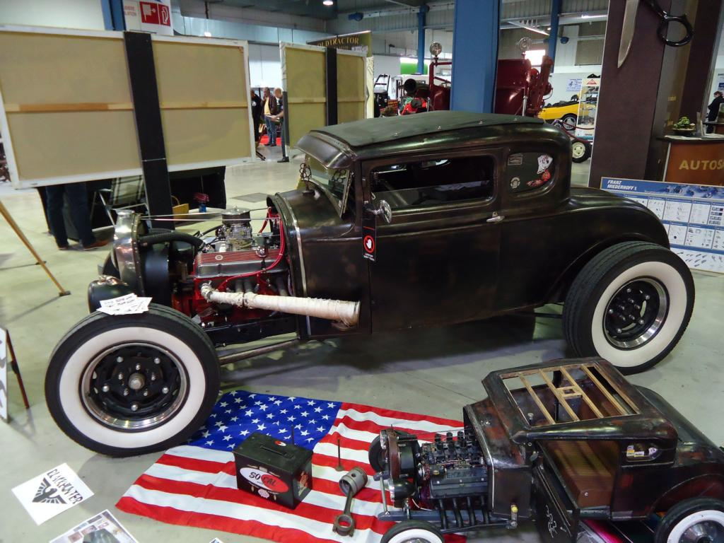 Ford Hot Rod beim Autojumble in Luxemburg am 09.03.2014