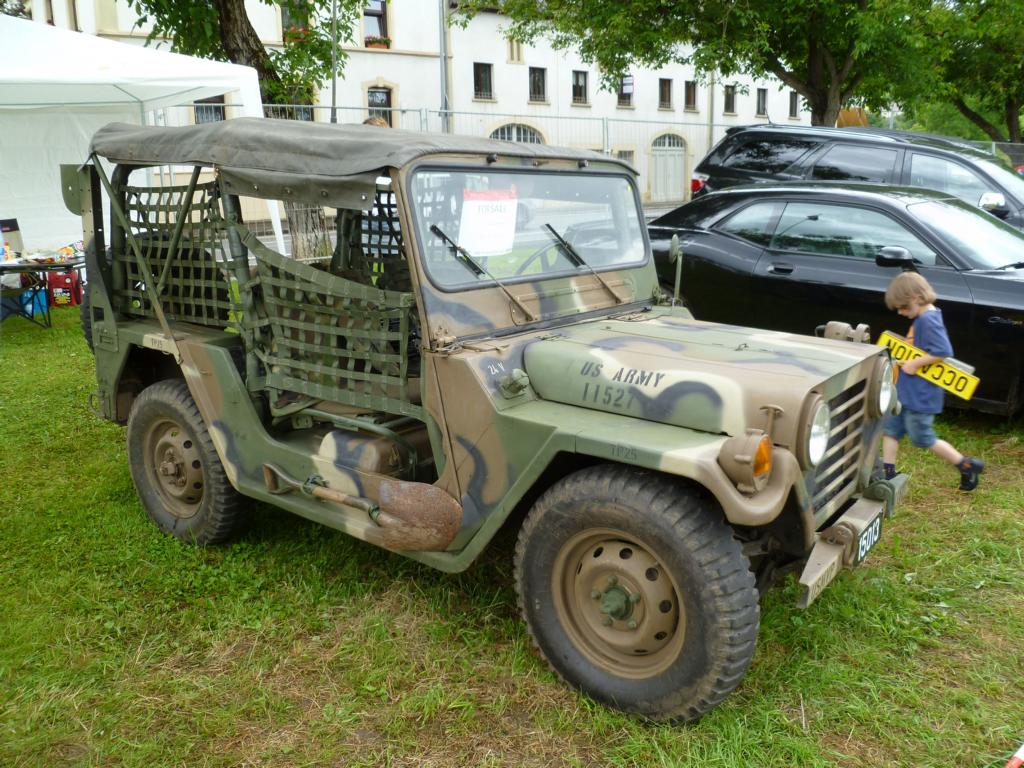 Ford M 151 A 2, US-Car-Treffen in Stadtbredimus (Lux.) am 01.07.2012