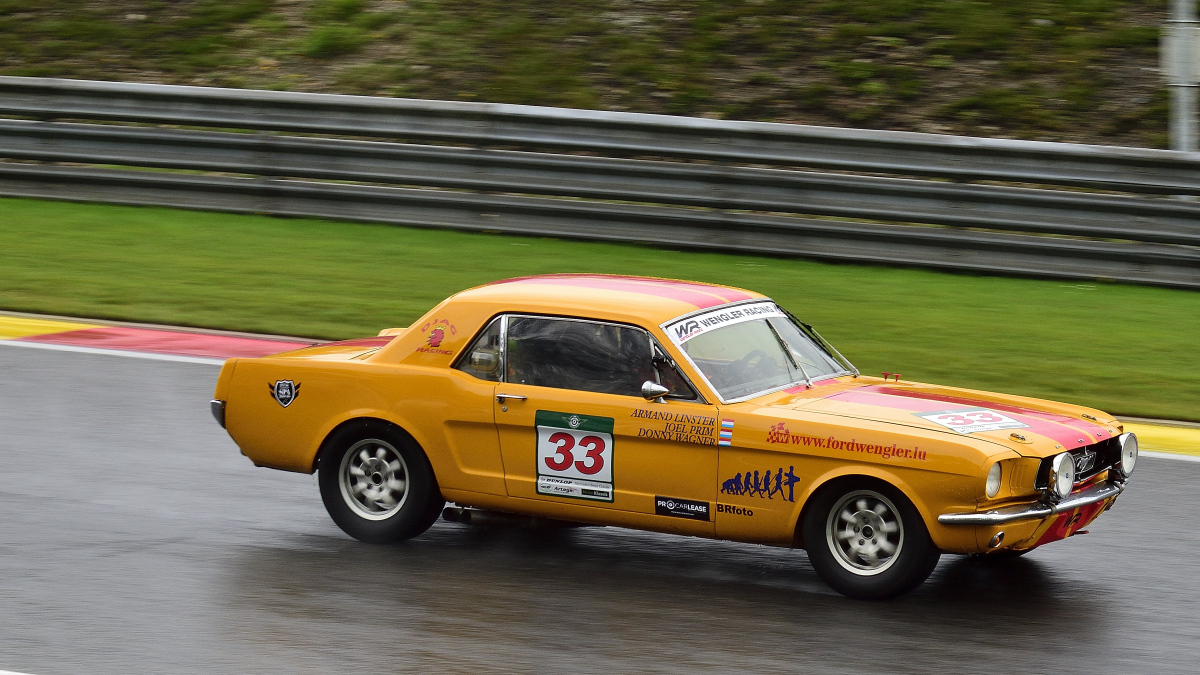 FORD Mustang, Spa Six Hours Endurance Hauptrennen bei den Spa Six Hours Classic vom 27 - 29 September 2019