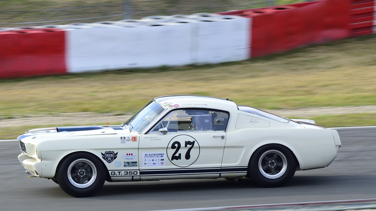 Ford Shelby Mustang GT350, ccm 4700, Bj. 1965, 46. AvD-Oldtimer-Grand-Prix 2018, Qualifying der Tourenwagen Classics am 11.Aug.2018