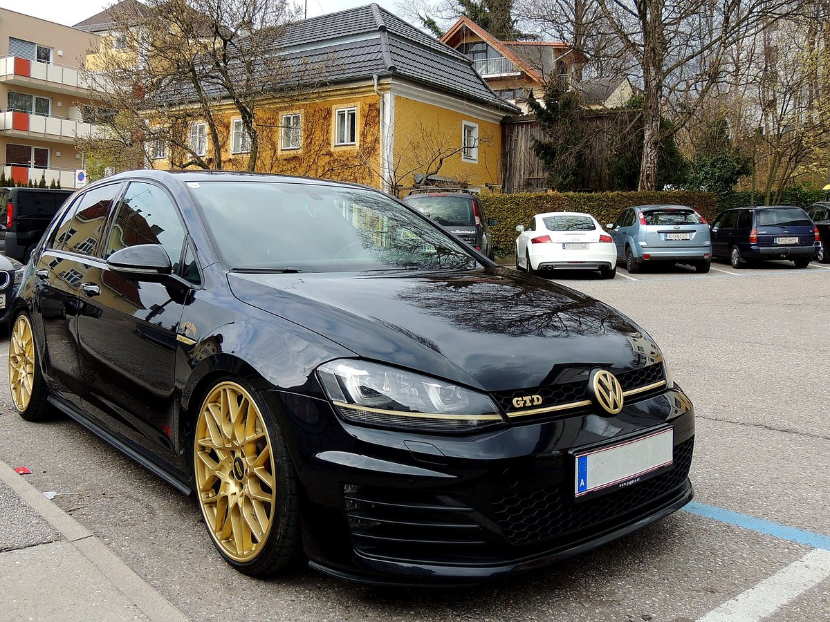 volkswagen golf vii fotos. Black Bedroom Furniture Sets. Home Design Ideas