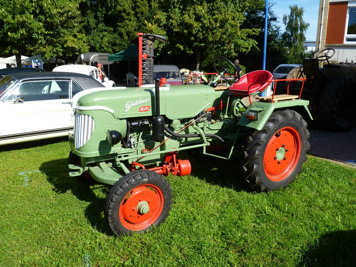 Güldner ADN9W, Vintage Cars & Bikes in Steinfort am 06.08.2016