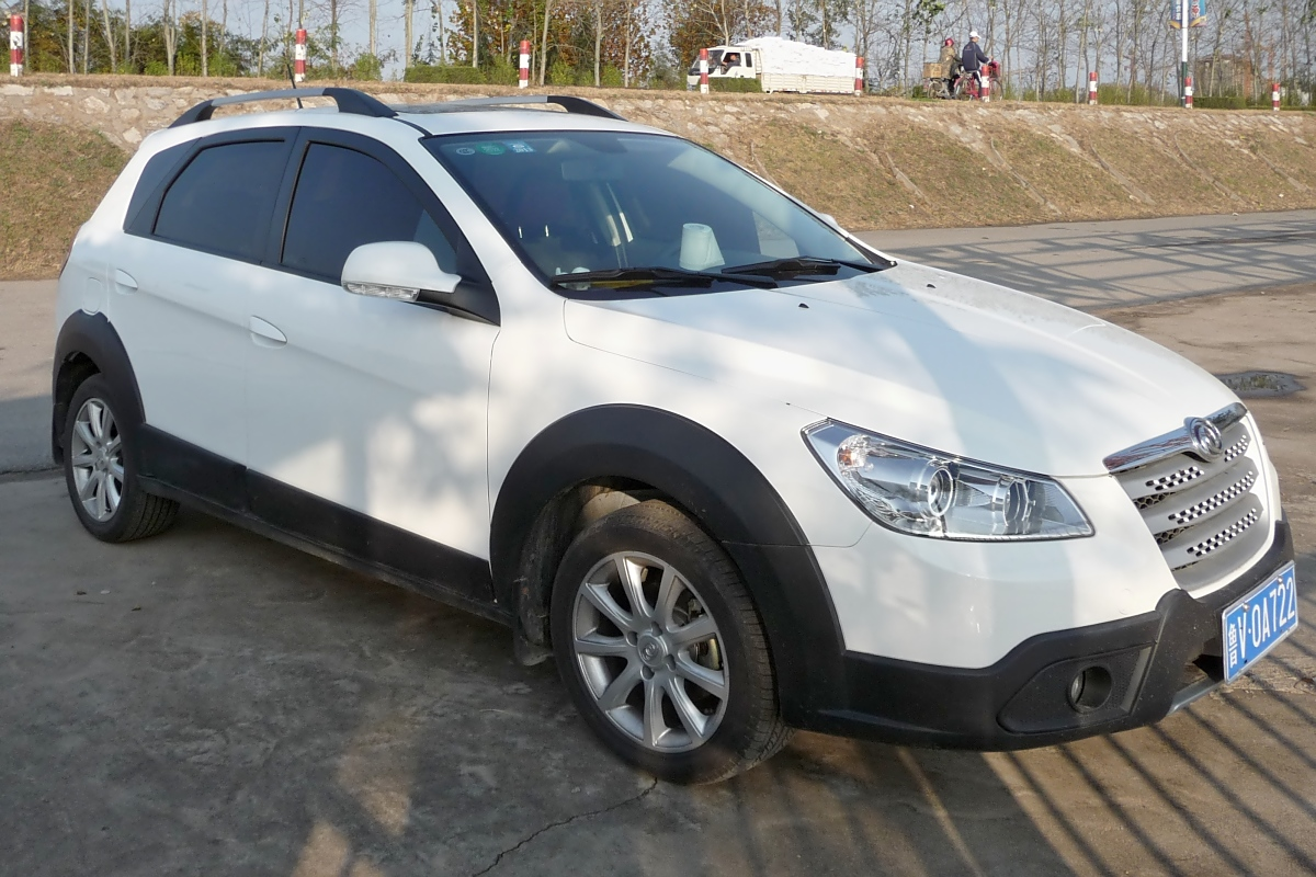 H30 Cross, kleiner SUV von DongFeng in Shouguang, 6.11.11