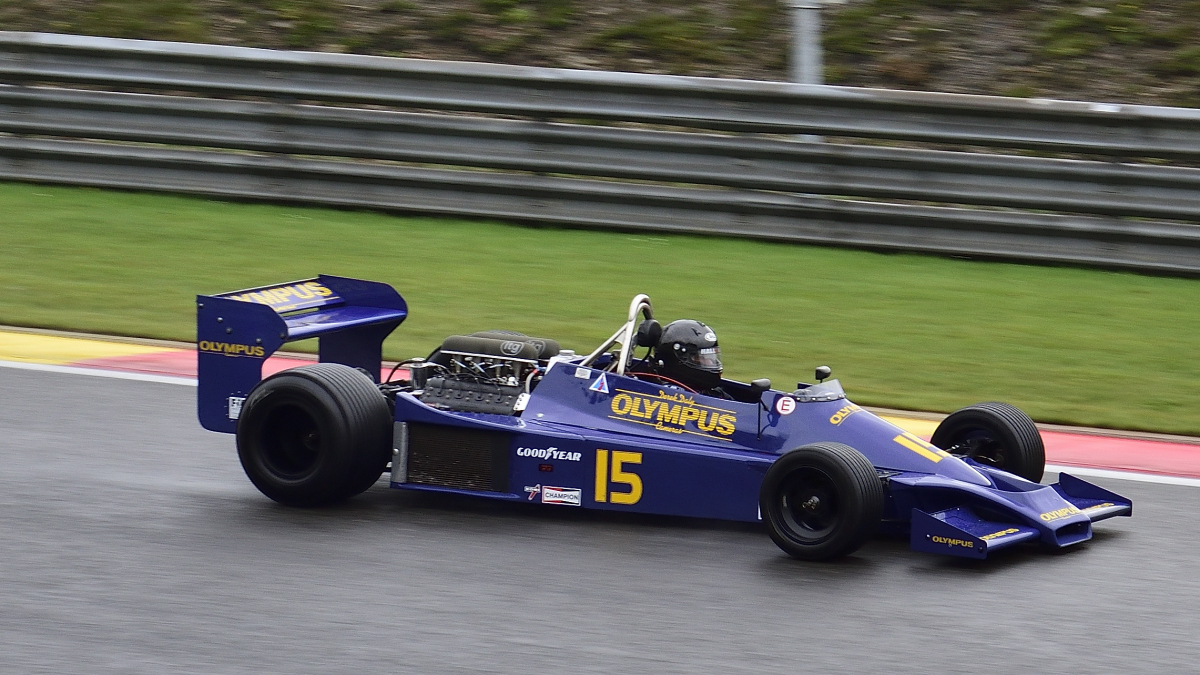 HESKETH 308E,FIA Masters Historic Formula One Champions, bei den Spa Six Hours Classic vom 27 - 29 September 2019