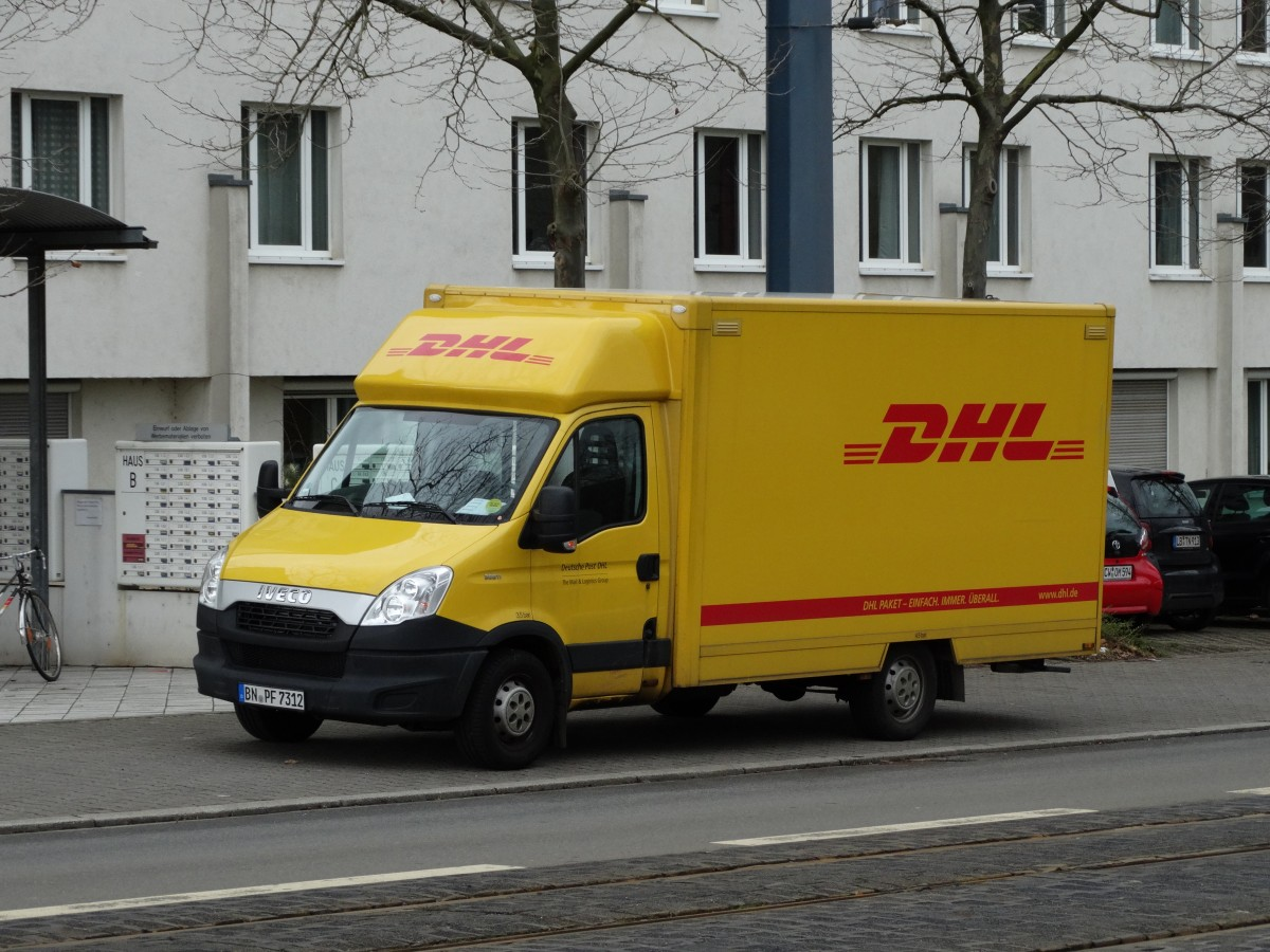 iveco daily dhl transporter am in heidelberg. Black Bedroom Furniture Sets. Home Design Ideas
