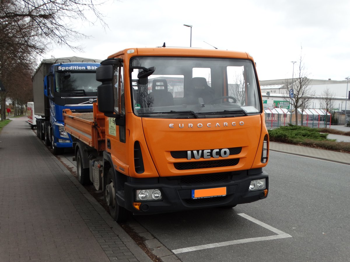 IVECO Eurocargo am 19.03.17 in Mainz Hechtsheim