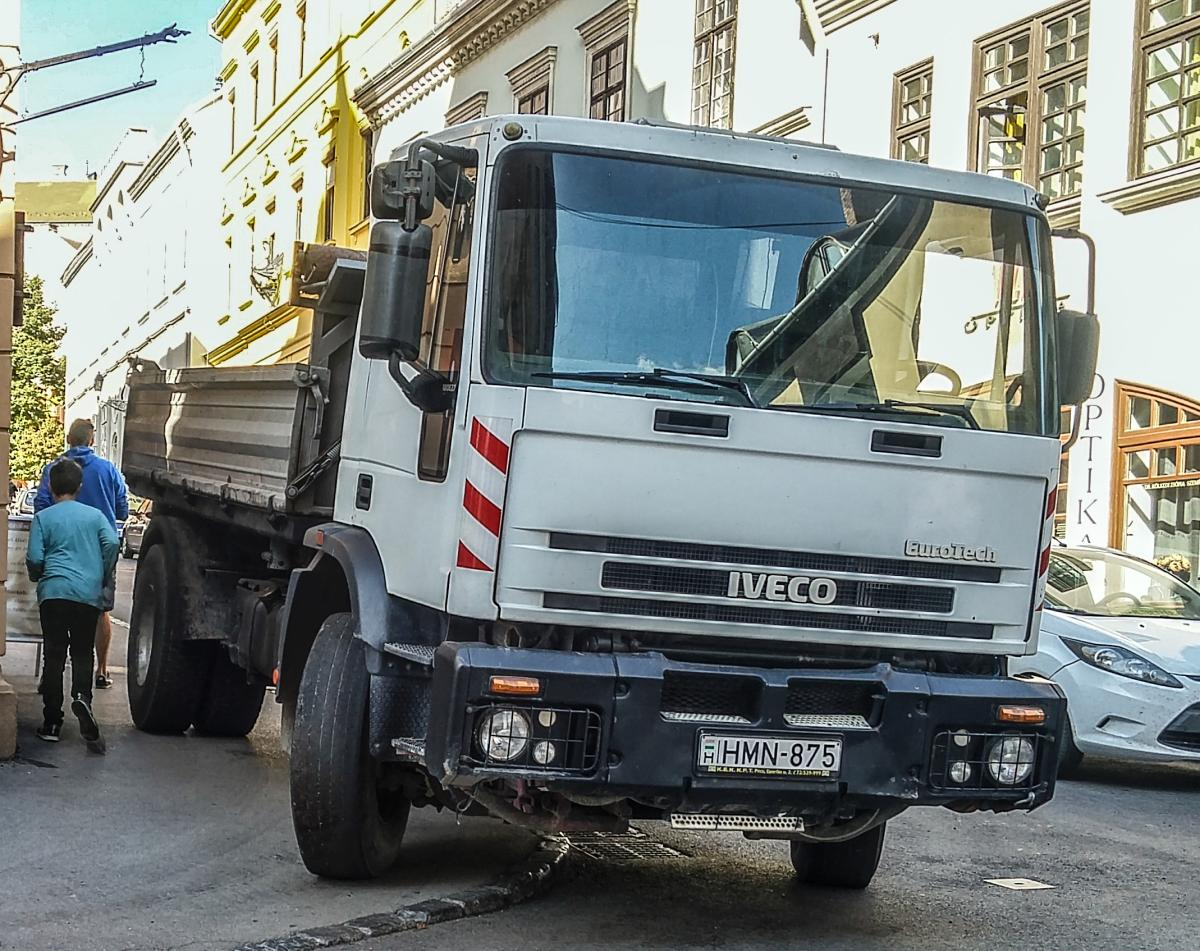 Iveco Eurotech. Foto: September, 2019 in Pécs, Ungarn.