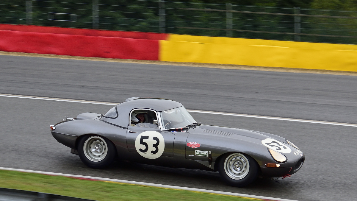 Jaguar E-Type 1963, Jaguar Classic Challenge, bei den Spa Six Hours Classic vom 27 - 29 September 2019