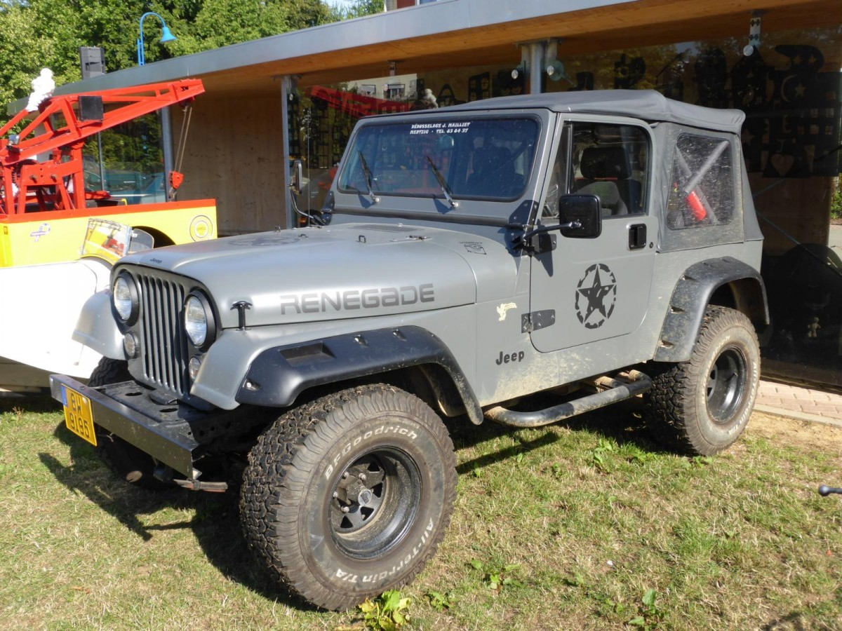 Jeep Wrangler, Vintage Cars & Bikes in Steinfort am 02.08.2015