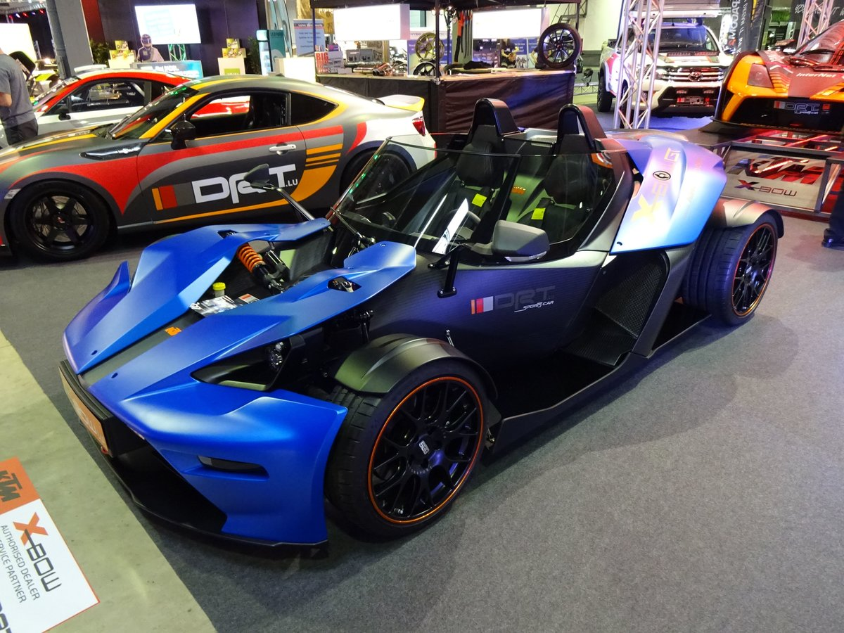 KTM X-Bow GT auf der International Motor Show in Luxembourg, 18.11.2016
