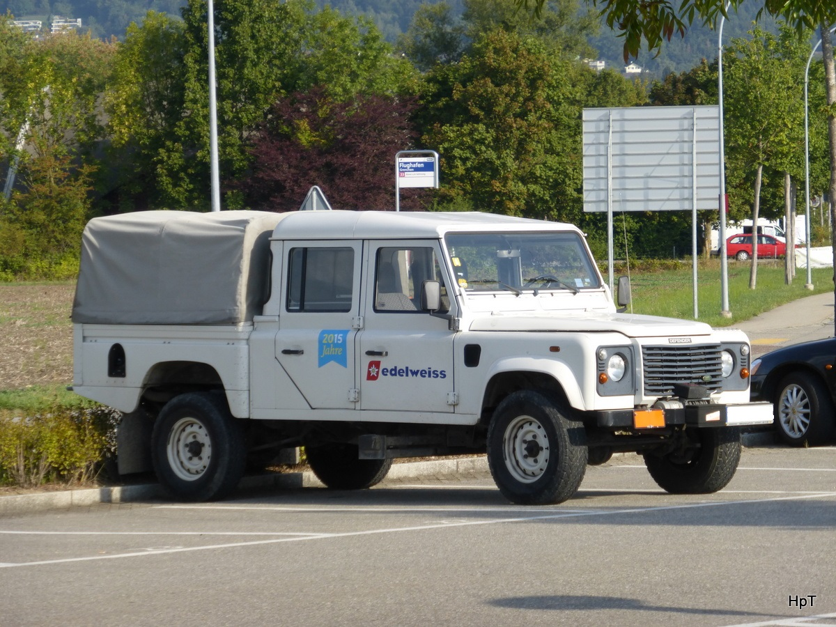 Land Rover Defender in Grenchen am 23.08.2015