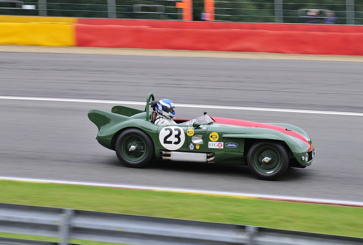 LISTER Bristol, Bj.1955, 2000ccm, Fahrer: WOOD Barry (GB) & NUTHALL Will (GB)