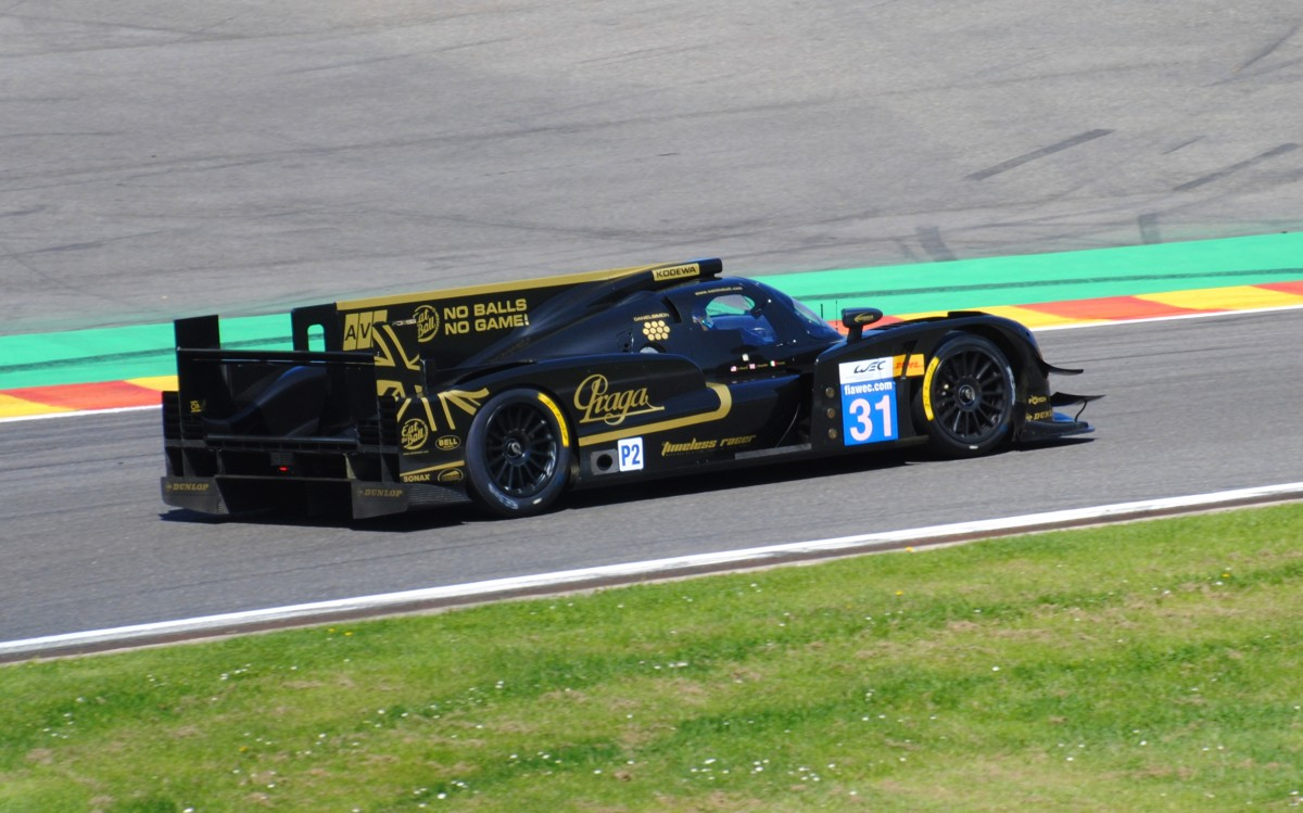 LMP2 Prototyp, Team LOTUS / T128 ,Bus Stop. Beim FIA WEC 6h Langstreckenrennen in Spa Francorchamps 4.Mai 2013
