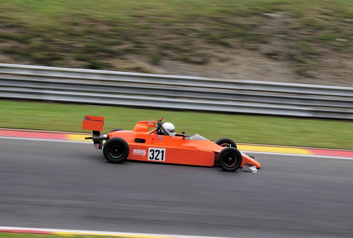 Marcus West im Van Diemen RF82 Formula Ford 1600, beim AvD Historic Race Cup, 2. Rennen am 24 July 2016 Spa Francorchamps. Youngtimer Festival Spa 2016