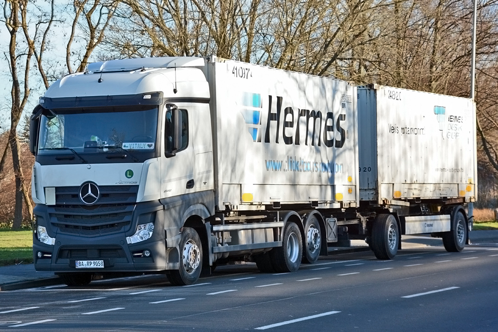 mb actros 2542 h ngerzug hermes in euskirchen. Black Bedroom Furniture Sets. Home Design Ideas