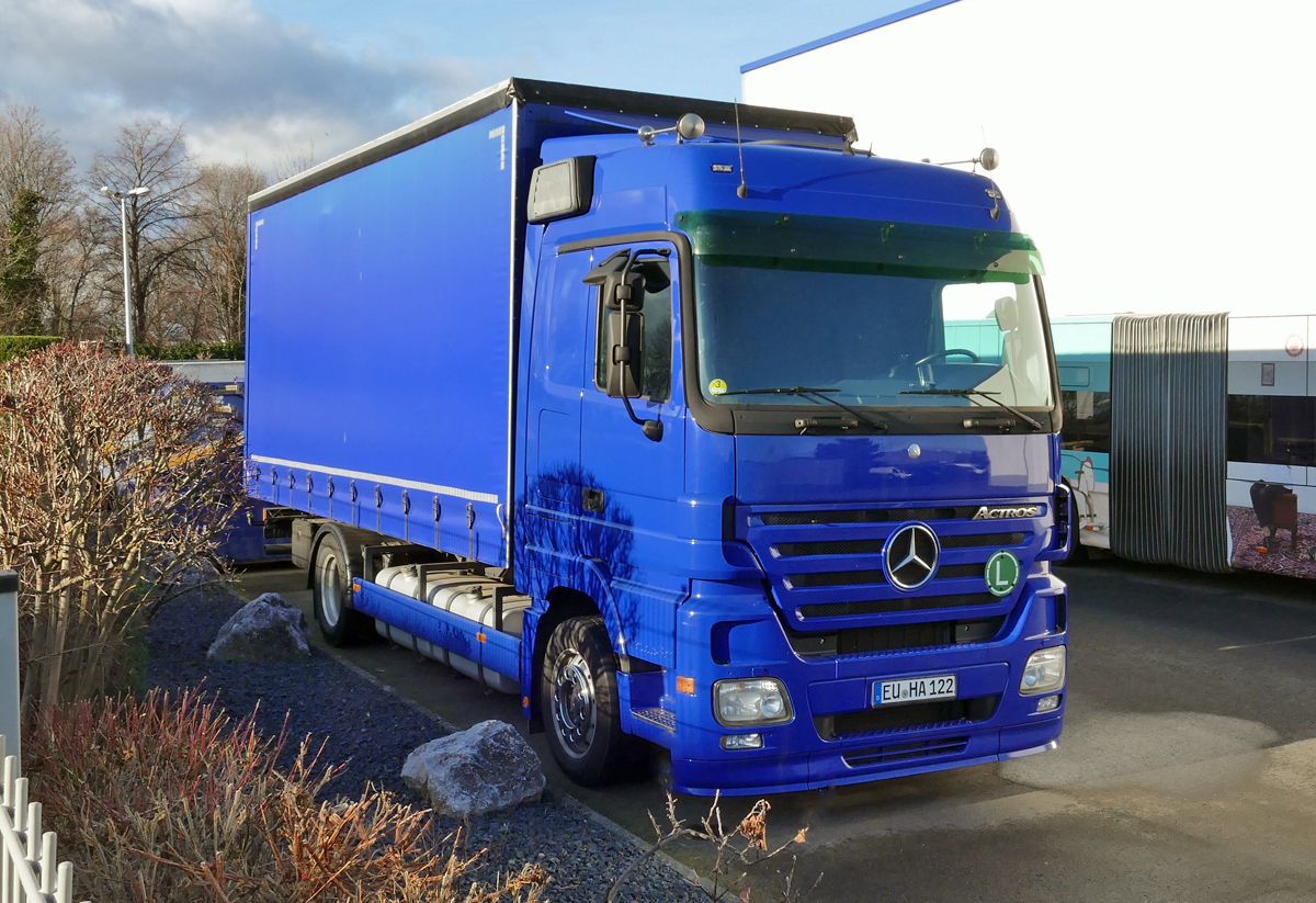 MB Actros in Euskirchen - 13.01.2020