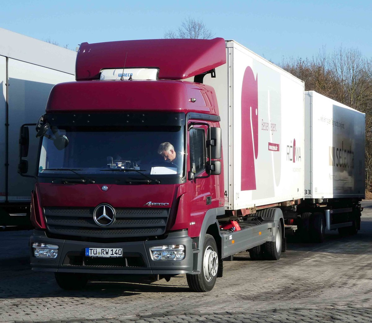 Mb Actros 2546 Container H Ngerzug In Euskirchen