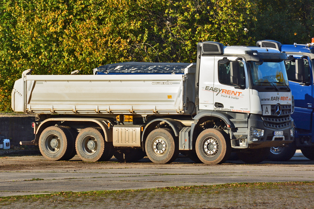 MB Axor 5245 Kipper in Euskirchen - 29.10.2016