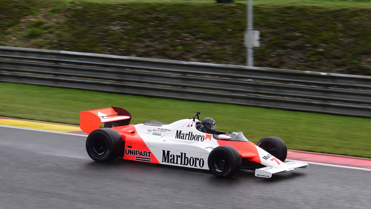 MCLAREN MP4/1, FIA Masters Historic Formula One Champions, bei den Spa Six Hours Classic vom 27 - 29 September 2019