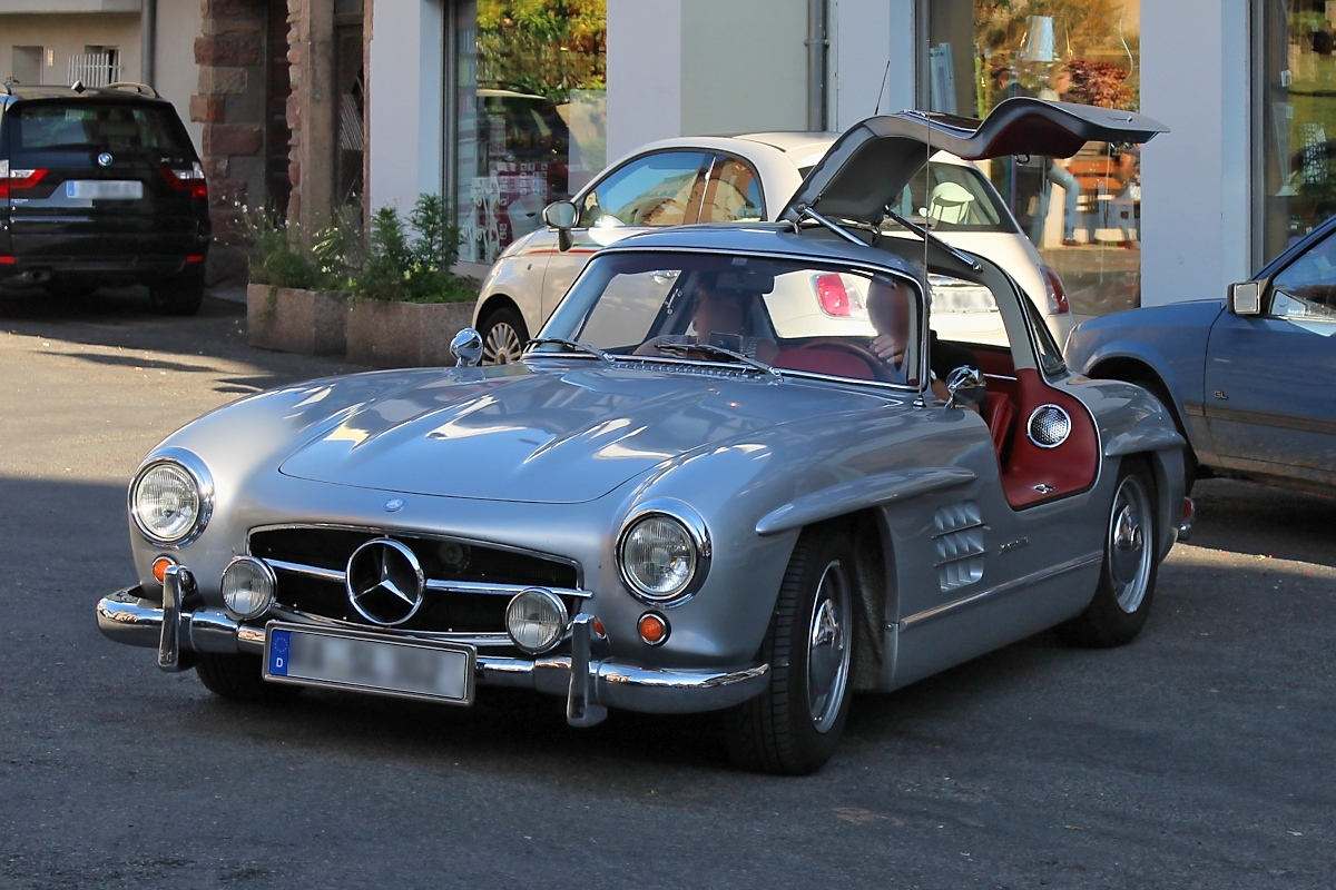 mercedes 300 sl fl gelt rer w 198 in obernai. Black Bedroom Furniture Sets. Home Design Ideas