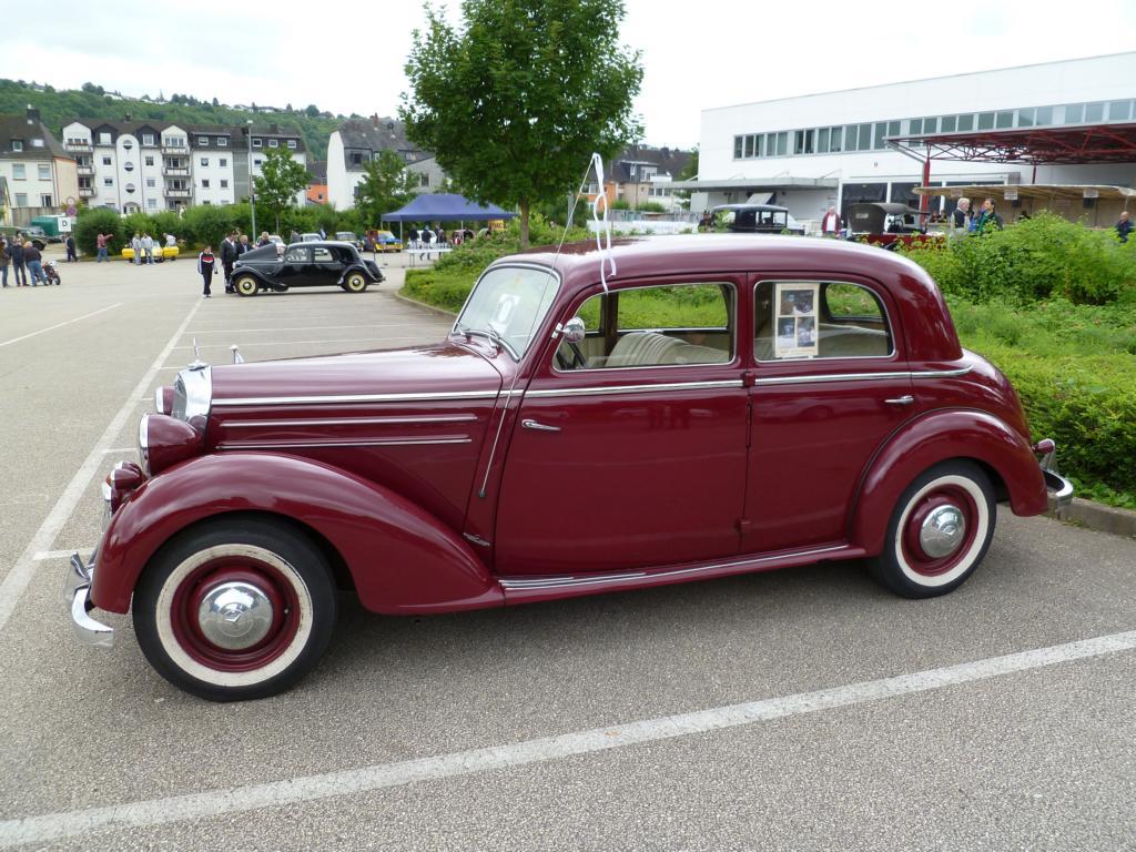 mercedes benz w136 iv 170s limousine 1949 1952 der 4. Black Bedroom Furniture Sets. Home Design Ideas