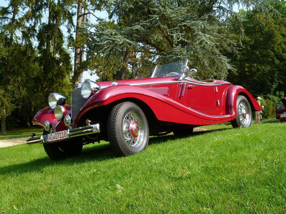 Mercedes-Benz 320 Roadster bei den Luxembourg Classic Days 2017 in Mondorf