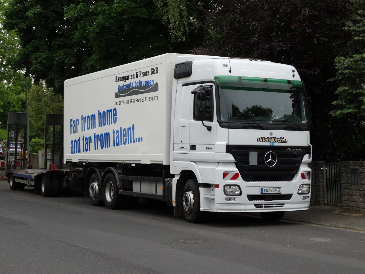 Mercedes Benz Actros am 16.05.15 in Maintal