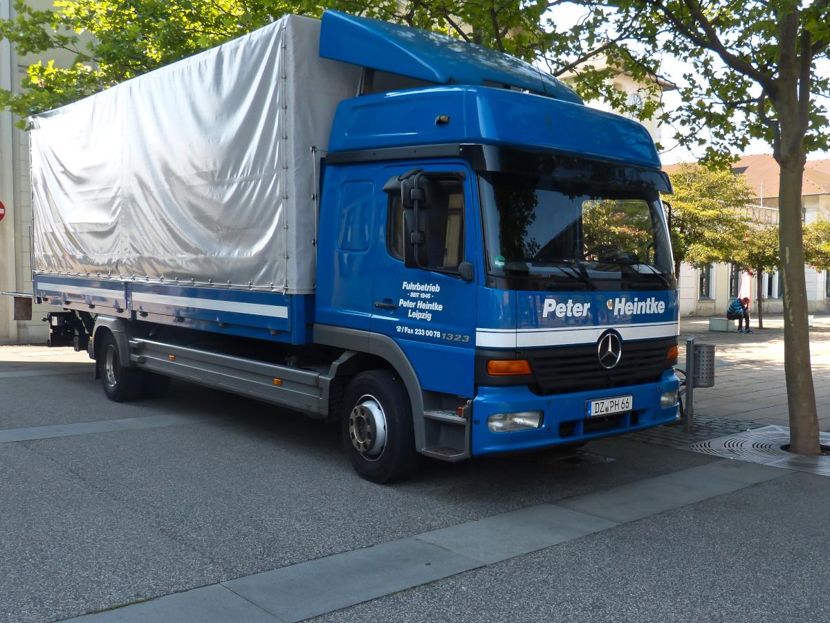 Mercedes benz atego 1323 1 generation langes fahrerhaus for Mercedes benz atego