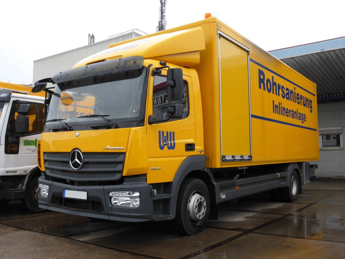 Mercedes-Benz Atego 1524 am 06.03.2016 in Trier