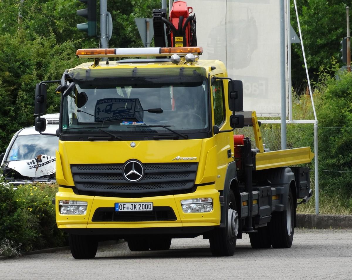 Mercedes benz atego 1218l - 885
