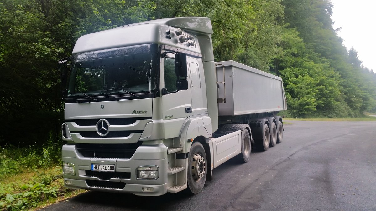 Mercedes Benz Axor 1843 - Naumann Beton - 22.06.2016 in Friedewald