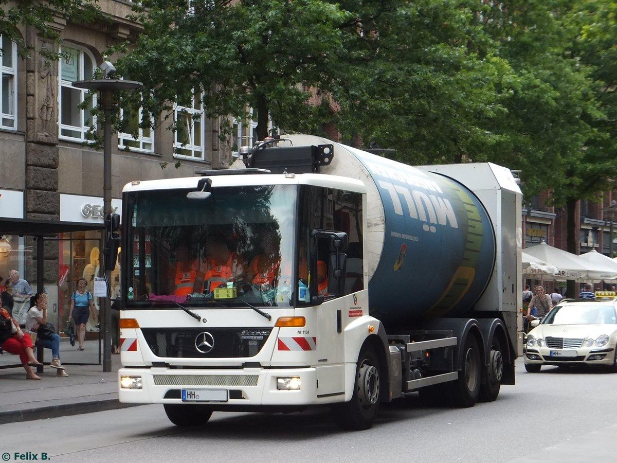 Mercedes benz econic m llentsorgungsfahrzeug in hamburg am for Benz hamburg