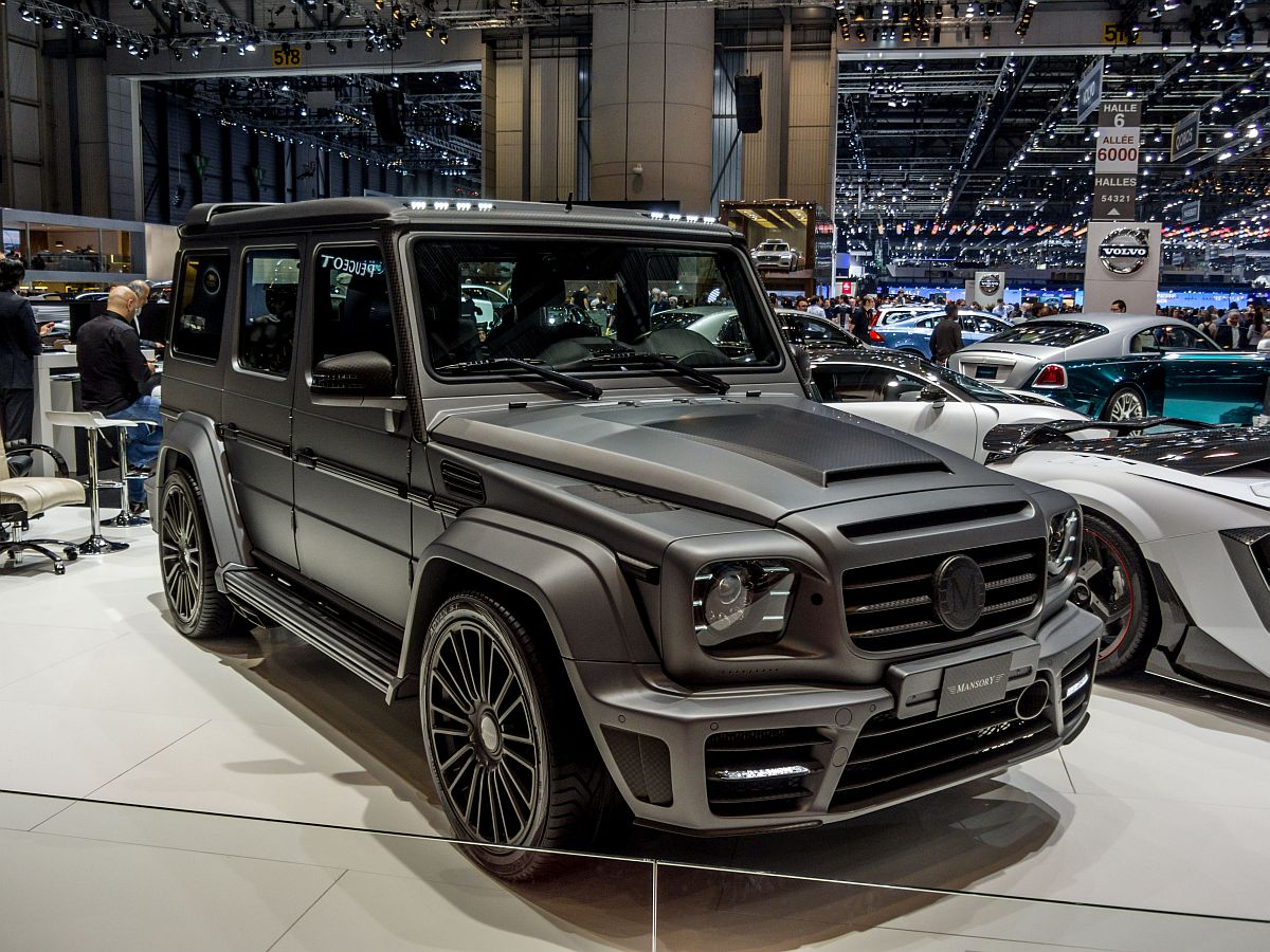 mercedes benz g klasse mansory autosalon genf 2014. Black Bedroom Furniture Sets. Home Design Ideas