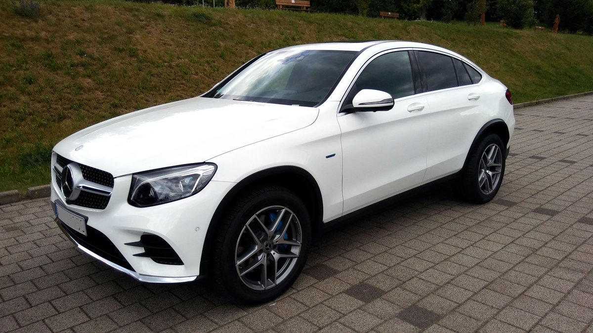 Mercedes-Benz GLC 350E 4MATIC in Zeulenroda. 25.6.17